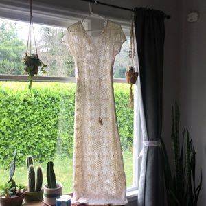 Anthropologie Lilka bellflower dress